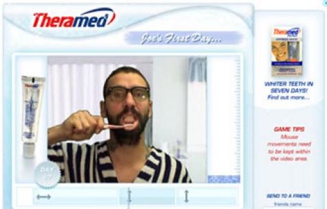 Theramed, diş macunu için viral kampanya