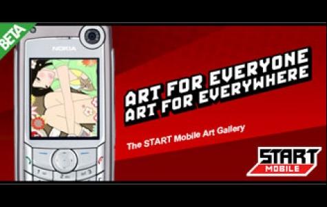 cep ekranlarında sanat!