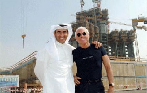 ilk Armani oteli 2008'de Dubai'de