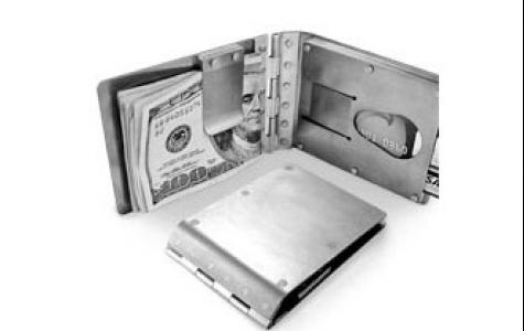 titanyum cüzdan