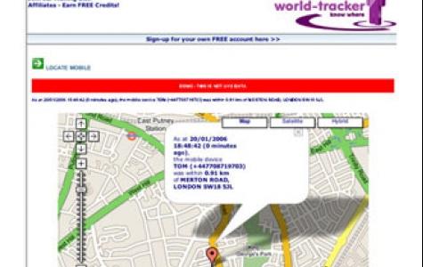 Cep tel casusluğu için: World Tracker
