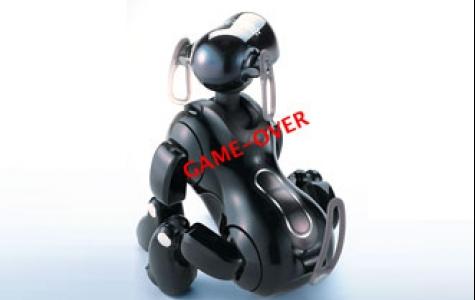 Sony robotçuklardan vazgeçti!