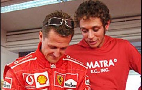 Valentino Rossi tekrar Ferrari direksiyonunda