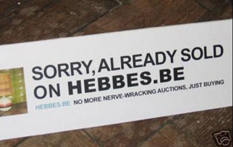 Muhteşem gerilla! eBay'de yayınlanan rakip ilan!