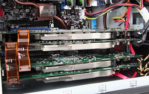 Quad-SLi ekran kartı sistemleri geliyor
