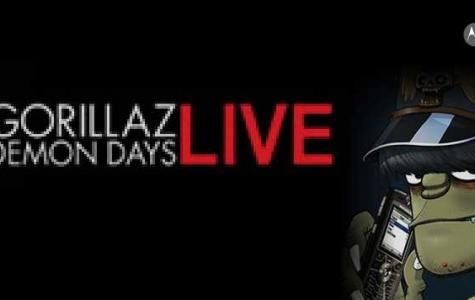 Gorillaz – Demon Days turu sponsor: Motorola