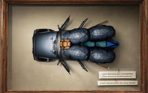 Jeep Wrangler'ın böcek ilanları