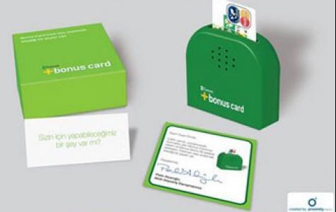 Bonus Card için Aktivasyon: Konuşan Kart