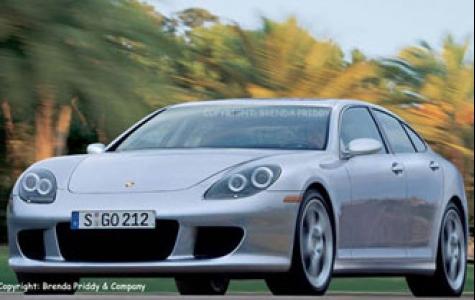 Porsche'den 4 kapılı sedan: Panamera