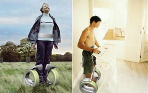 Ayakta kullanılan tekerlekli sandalye