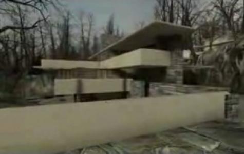 Frank Lloyd Wright'ın Kaufmann Evi Half Life'da