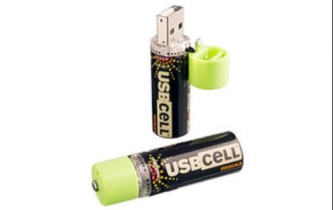 USB şarjlı pil