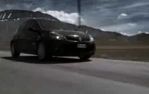 Clio RS 200 HP reklamı