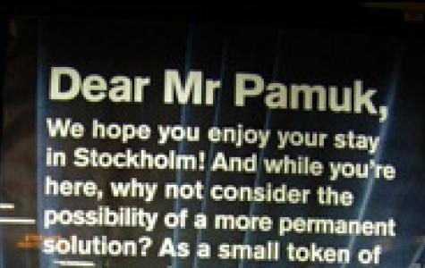 Dear Mr. Pamuk