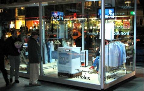 Electrolux Reklam kubiki.
