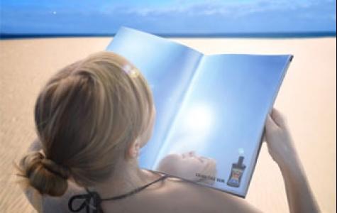 dergi ile güneşin keyfini çıkartın!