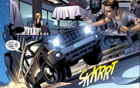 Jeep & Marvel ve online çizgi roman