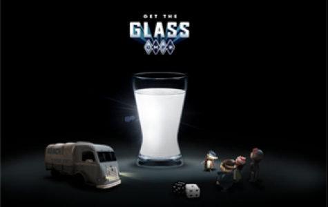 Bir bardak süt için!