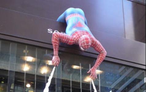 örümcek adam 3 geldi!