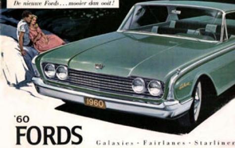 Klasik Otomobil Broşürleri