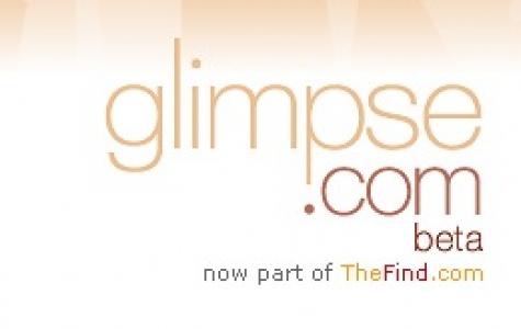 yeni bir para harcama sitesi: glimpse.com