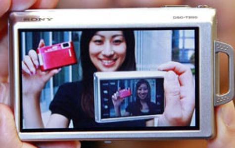 Gülümsemeyi yakalayan fotoğraf makinesi