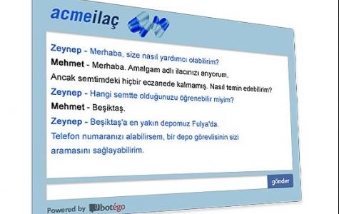 Yapay Zeka Sahibi Akıllı Site Uygulaması:Botégo!