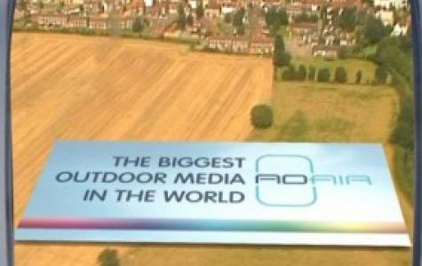 Ad-Air uçan ve kaçan odaklı yeni reklam alanları