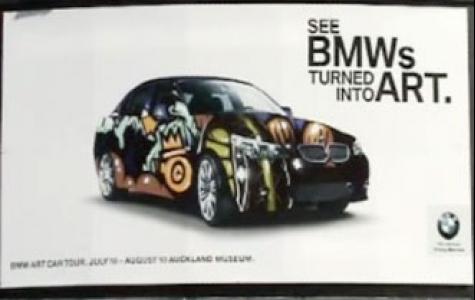 BMW sanat arabaları şehirde!
