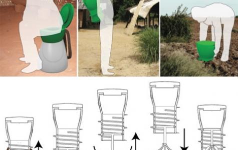 Afrikalılar İçin Hijyenik Tuvalet Tasarımı.