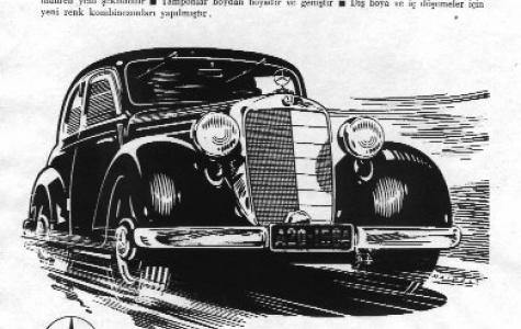 Tarihi Otomobil Reklamları