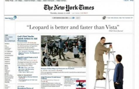 leopar vista'dan daha iyi dedim!
