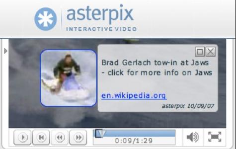 Asterpix Hypervideo