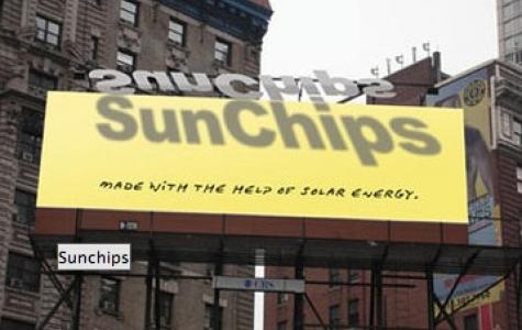 Güneş Destekli Reklam Panosu