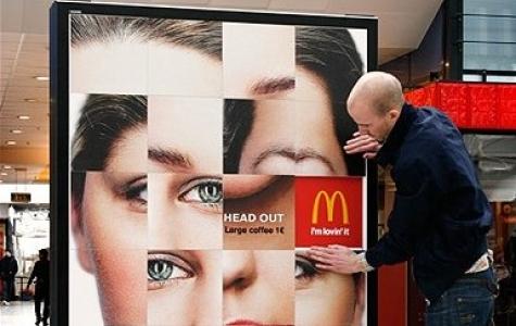 Bulmaca Reklam Panosu – McDonald's