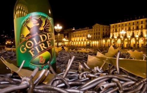 Golden Fire, alışılmadık şekilde güçlü bira!