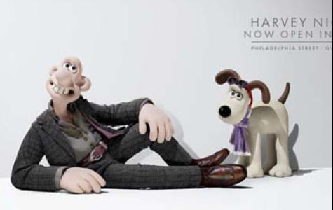 Harvey Nichols'ın yeni modelleri, Wallace ve Gromit