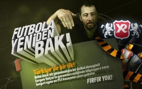 Futbola Yeniden Bak – Sergen'li Futbol Oyunu