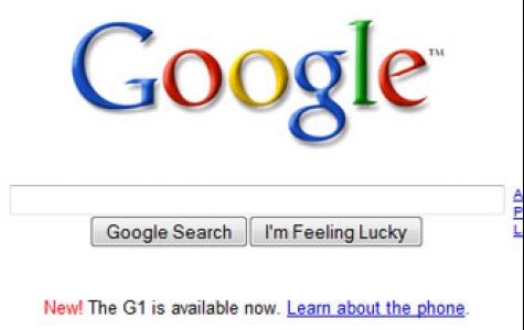 google ana sayfasına ilk kez reklam aldı!