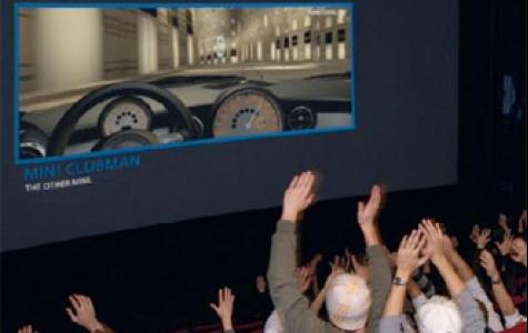sinemada Mini deneme sürüşü keyfi!