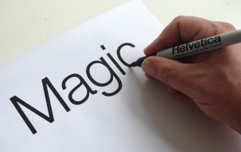 Helvetica yazan sihirli kalem!