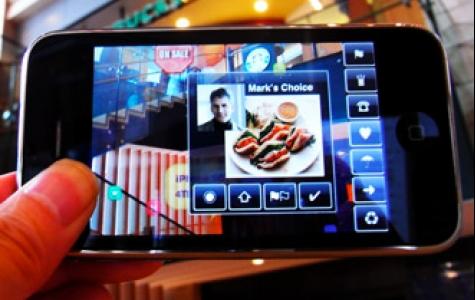 Augmented Reality iPhone uygulaması *wow*