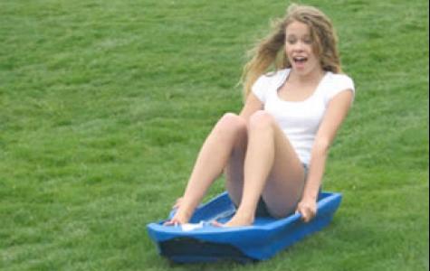 yaz için çimen sörfü