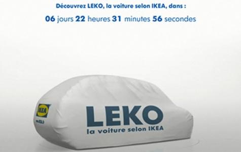 IKEA – LEKO kendinyap otomobil