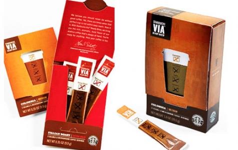 Starbucks Yenilikleri: Hazır Kahve VIA ve Dondurma!