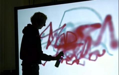 WiiSpray dijital grafiti & stencil