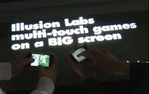 Illusion Labs'dan dokunmatik dev ekran oyunları