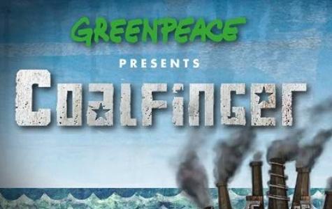 "Greenpeace presents: ""CoalFinger"""
