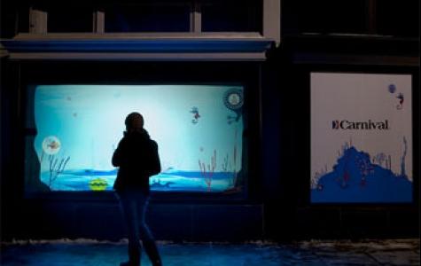 Carnival'in interaktif akvaryumu
