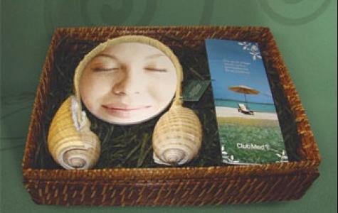 Club Med'den stereo deniz kabuğu kulaklık